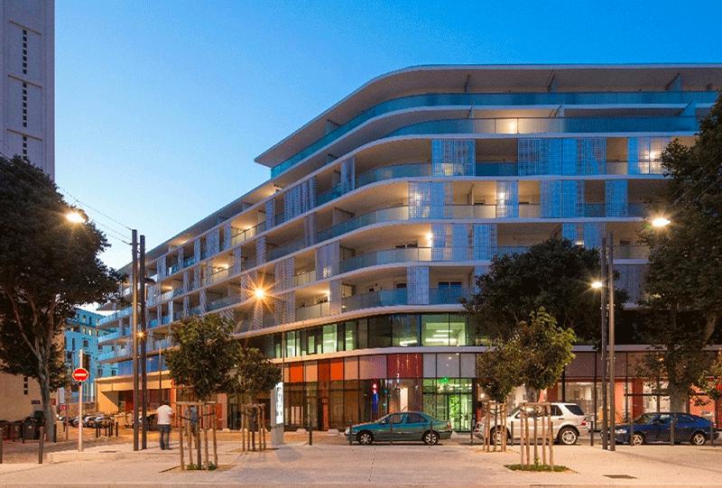 Immeuble Tasso Paralia, Marseille, MOE