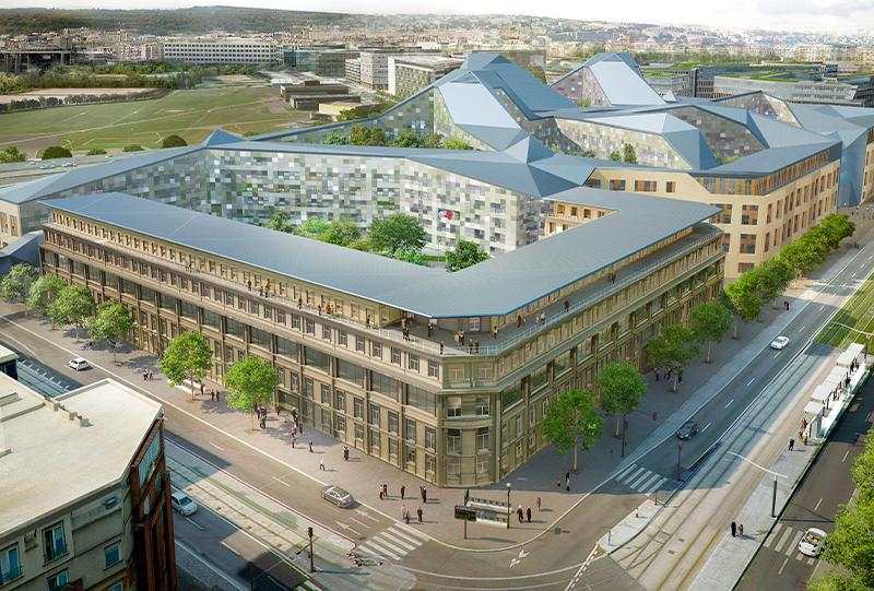 Ministère de La Défense, Paris, ECO, R2M